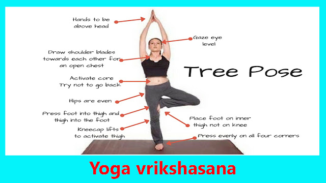Vrikshasana yoga and its benefits