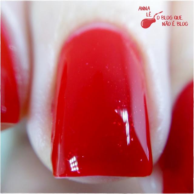 5ft Avenue Ana Hickmann Esmalte Vermelho Red Nailpolish Daiane Cosméticos