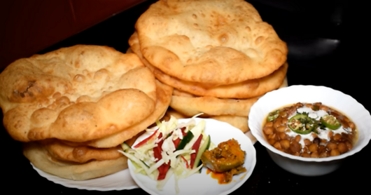 Chole Bhature Recipe by Expert Amna and  Banglar Rannaghor