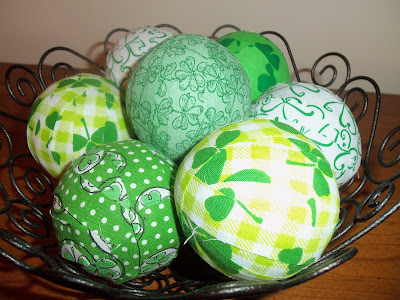decorative fabric balls