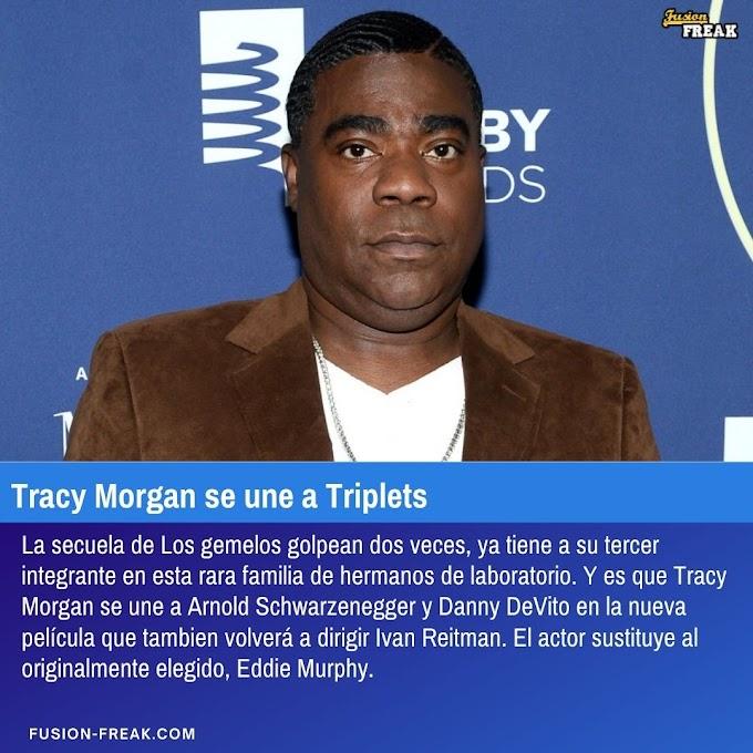 Tracy Morgan se une a Los trillizos golpean tres veces