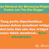 Tips Membuat dan Memasang Widget Tombol Join This Site Blogger