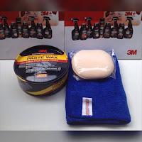 เคลือบสีรถยนต์ 3M Paste wax ราคาถูก
