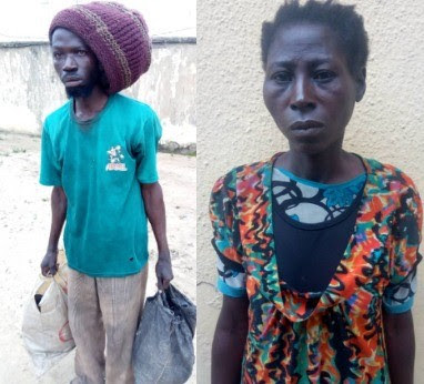 Male & Female Ritualists Arrested In Lagos With Human Body