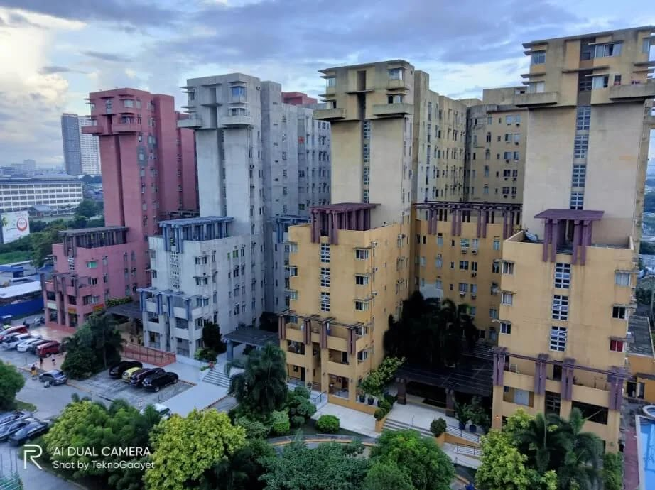 Realme C11 Camera Sample - Condominiums, HDR and Chroma Boost On