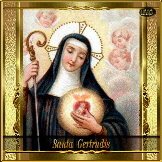 Resultado de imagen para oraciones a Santa Gertrudis-16 de noviembre