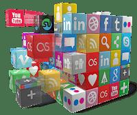 логотипы соцсетей