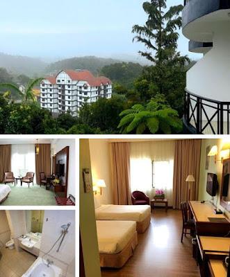 Heritage hotel cameron highland pemandangan dan bilik