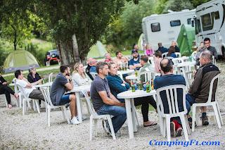 Guests at Camping F1 Monaco