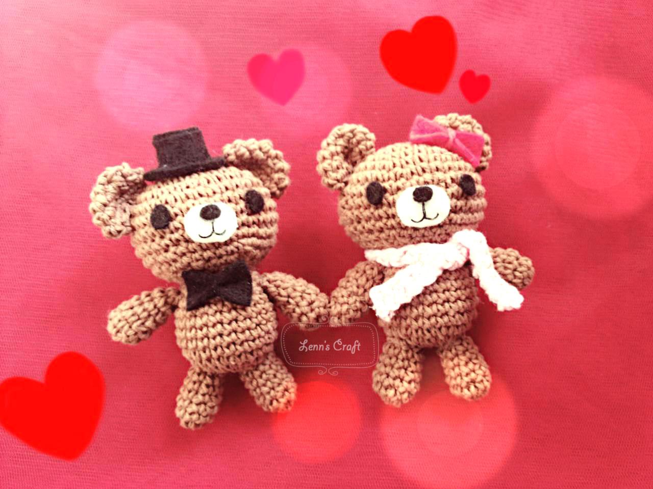 Amigurumi Boneka : Lenn s craft handmade doll amigurumi jual gantungan
