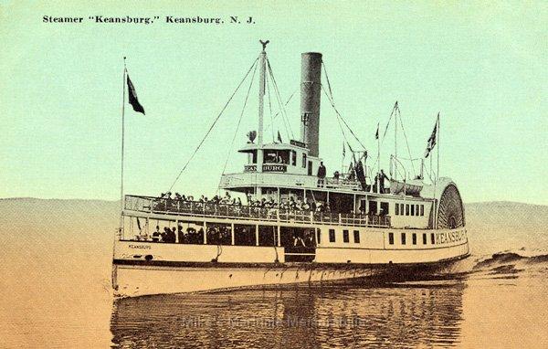 Keenbug Keansburg Steamboat Comapny