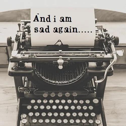and i am sad again DP for boys