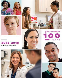 Planned Parenthood's annual report