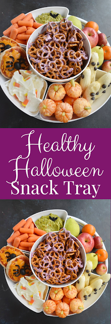 Healthy Halloween Party Tray