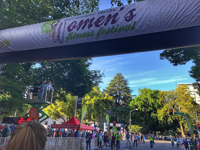 Kaiser Permanente Women's Fitness Festival Start Line