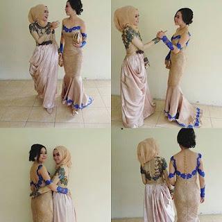 Model Gaun Kebaya Hamil