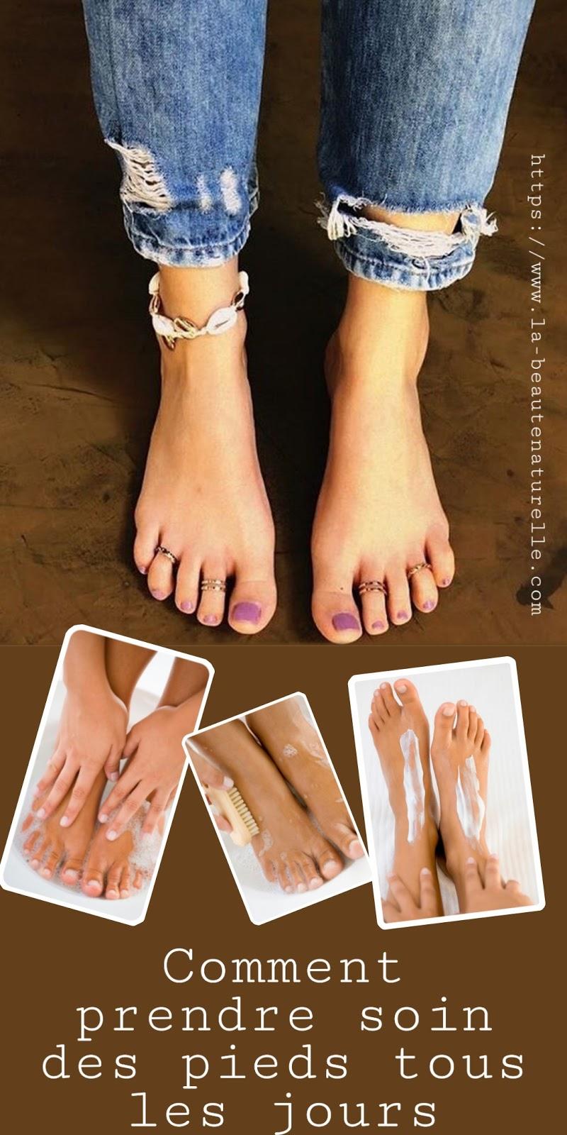 Comment prendre soin des pieds tous les jours
