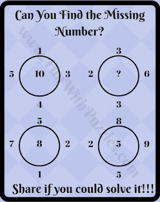 Tricky math circle puzzle question