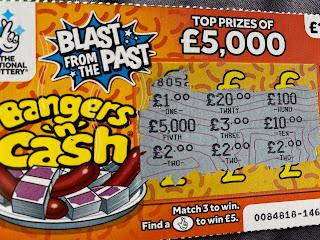 £1 Banger 'n' Cash