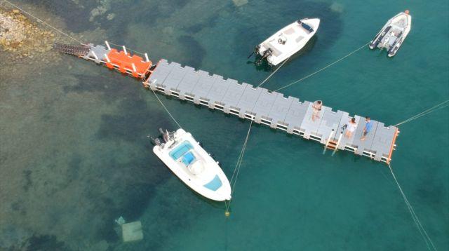 Άδεια για πλωτή εξέδρα στην περιοχή Πετροθάλασσα του Δήμου Ερμιονίδας