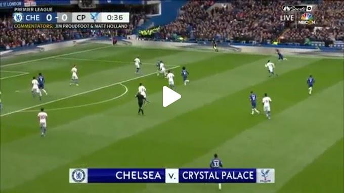 VIDEO: Chelsea FC 2:0 Crystal Palace / Premier league