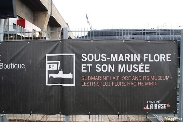 La Base sottomarina di Lorient in Bretagna