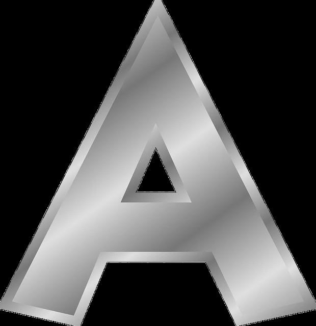 صورة اجمل حرف A في العالم