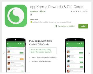 Karma Rewards & Gift Cards