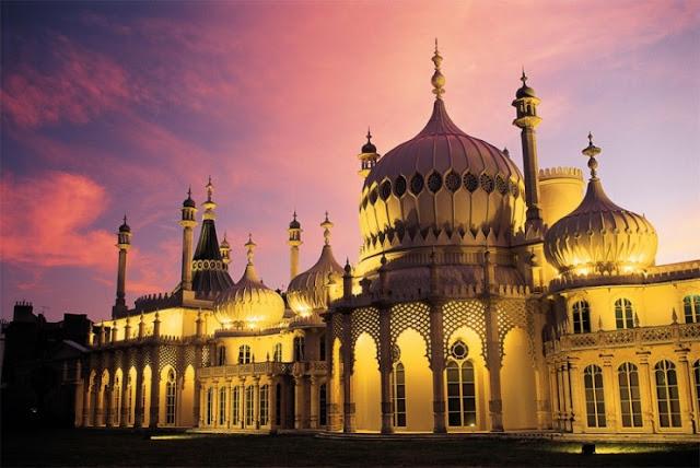 Royal Pavilion, Brighton, Inggris