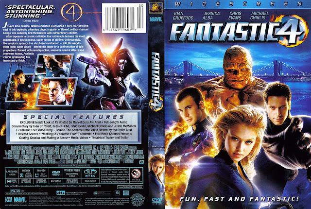 Fantastic Four  (2005) Subtitle Indonesia BluRay 1080p [Google Drive]