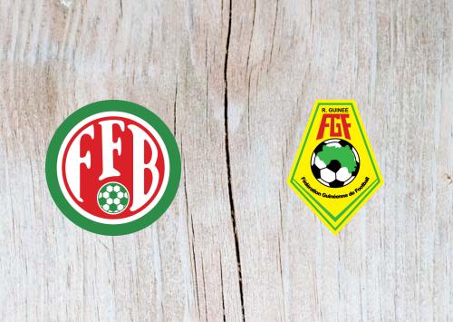 Burundi vs Guinea -Highlights 30 June 2019