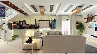 platre casablanca decoration plafond