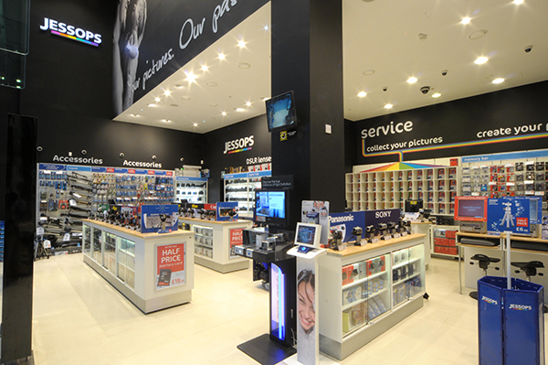 Loja Jessops em Londres