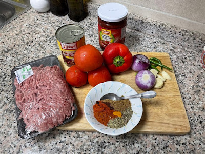 Beef Chili Con Carne Ingredients