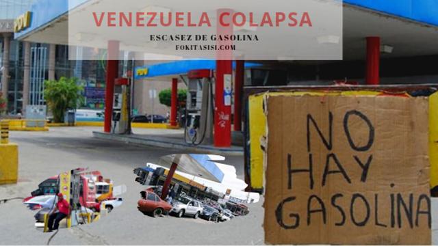 (Imagen) la escasez de gasolina en Venezuela empeorará en los próximos días, según lo ha mencionado Ivan Freites, Secretario de la futpv hoy