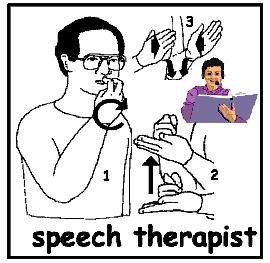 HearMyHands ASL: sign: SPEECH for Miss. Speechie's