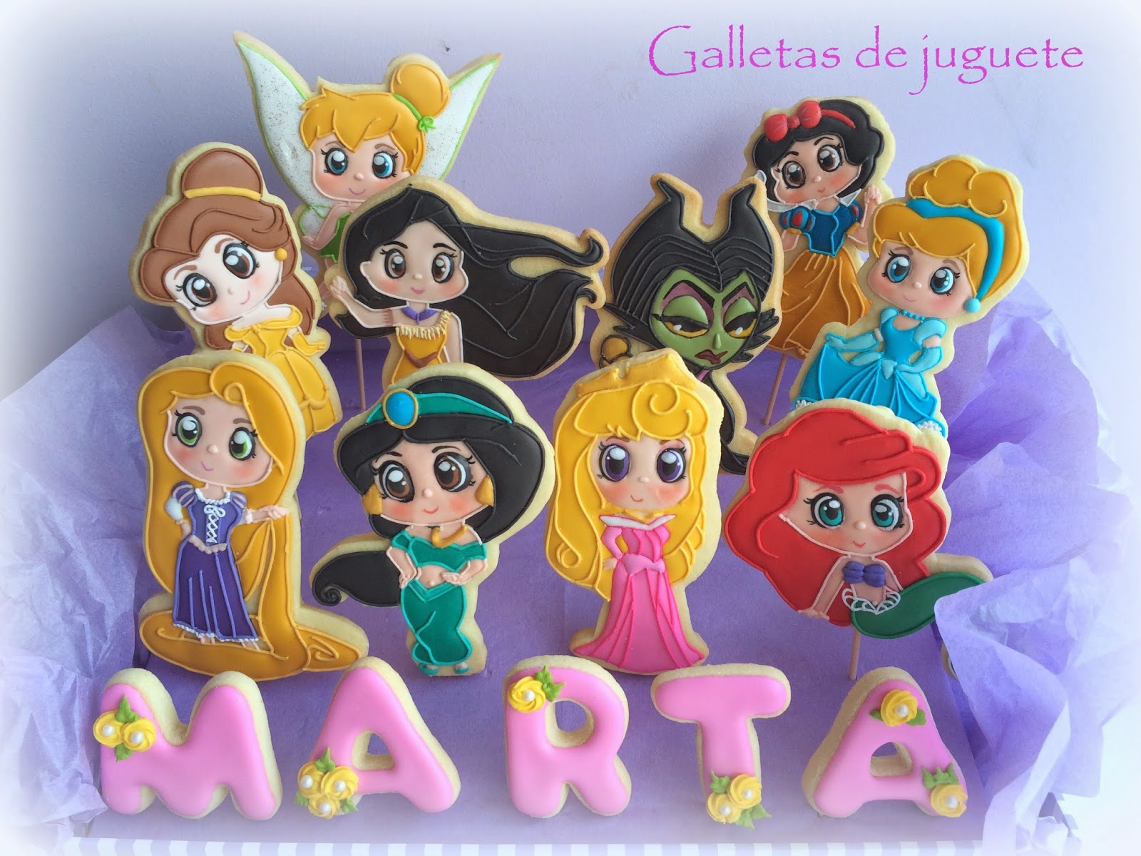 Galletas Decoradas De Princesas Galletas De Juguete Galletas Princesas Disney