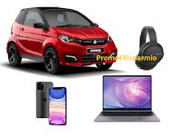 """Concorso """"Scatta con Aixam"""" : vinci gratis mini auto Aixam, iPhone 11, MateBook Huawei e cuffie Sony"""