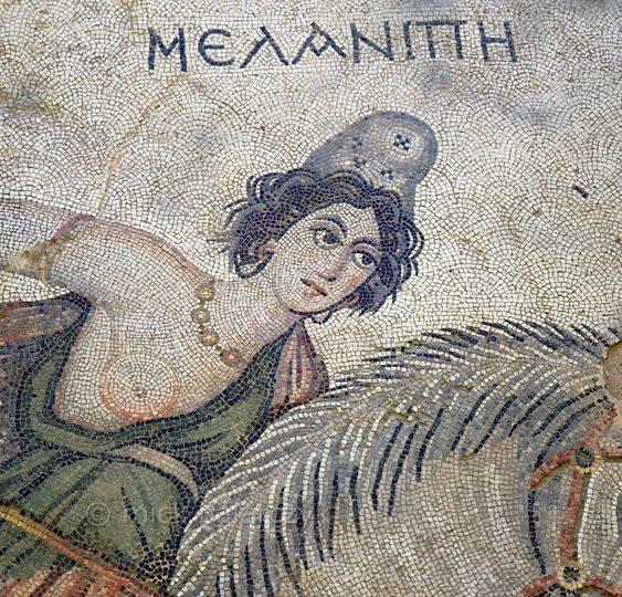 Αμαζόνα Μελανίππη, Έδεσσα Urfa 6ος αι. μ.Χ.
