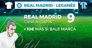 Paston Megacuota Real Madrid vs Leganes 1 septiembre