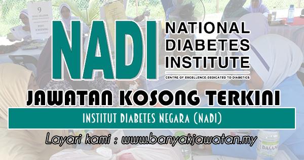 Jawatan Kosong di Institut Diabetes Negara (NADI) -