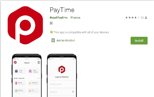 Aplikasi PayTime