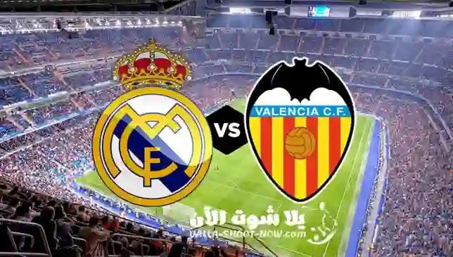 تقرير مباراة ريال مدريد وفالنسيا اليوم  ، يحتاج ريال مدريد اليوم حصد ثلاث نقاط كي  يستمر في منافسة برشلونة