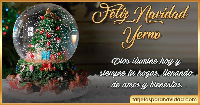 feliz navidad yerno