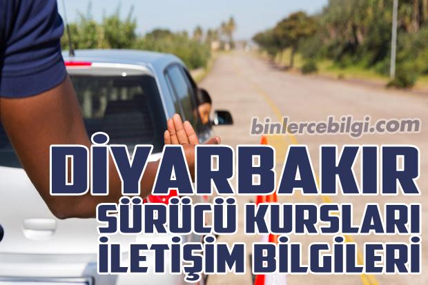 Diyarbakır Sürücü Kursları Listesi, Diyarbakır Sürücü Kursu Fiyatları, Sürücü Kurslarının Tam Listesi, Adresleri, Diyarbakır'da bulunan Sürücü Kurslarının Telefonları ve iletişim bilgileri.