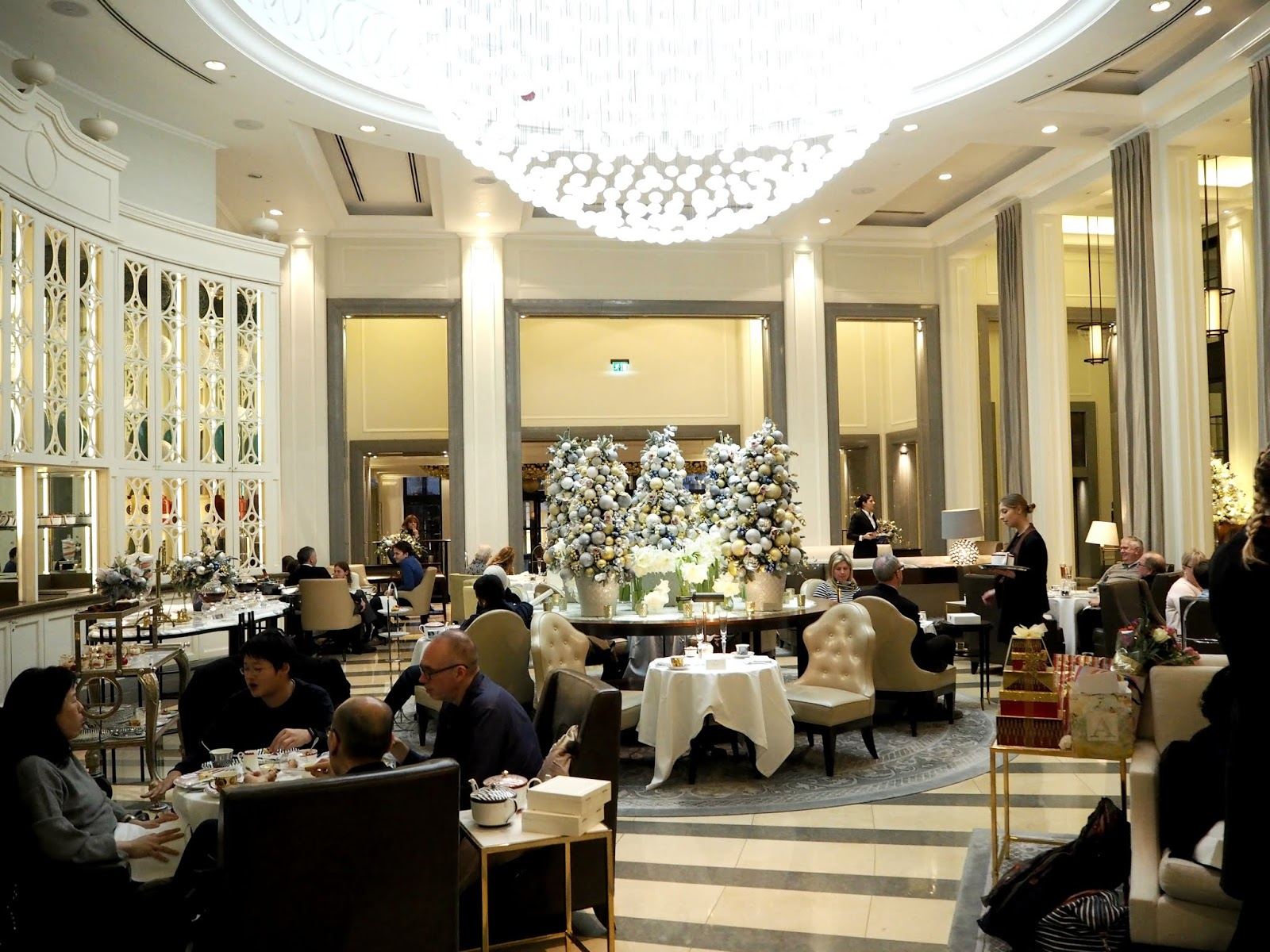 The Crystal Moon Lounge at The Corinthia London