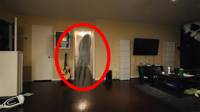 ghost capture on hotel room