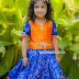 Allu Arjun Daughter Blue Lehenga