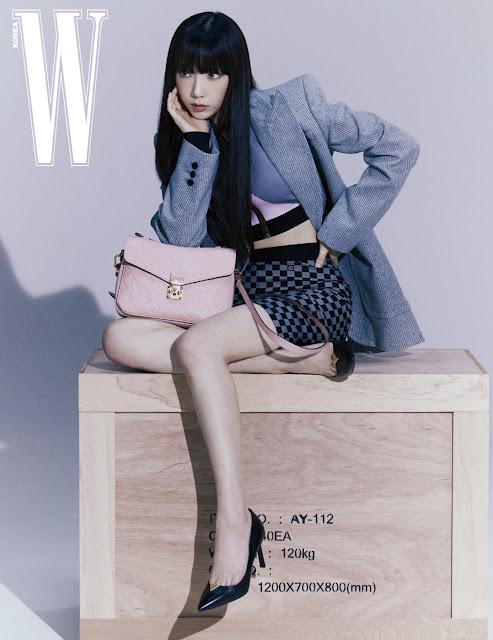 SNSD Taeyeon W Korea Pictures