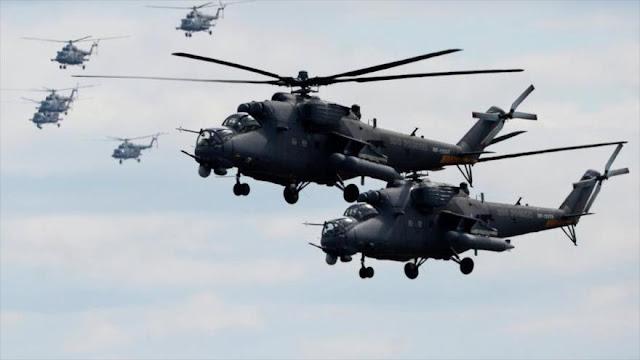 Argentina busca blindar su espacio aéreo con helicópteros rusos